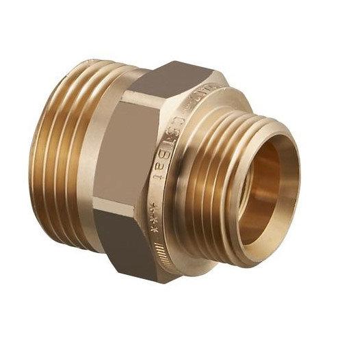 11084.970 G 1 1/4 HP x G 1 HP Ниппель двойной редукционный Oventrop Cofit S