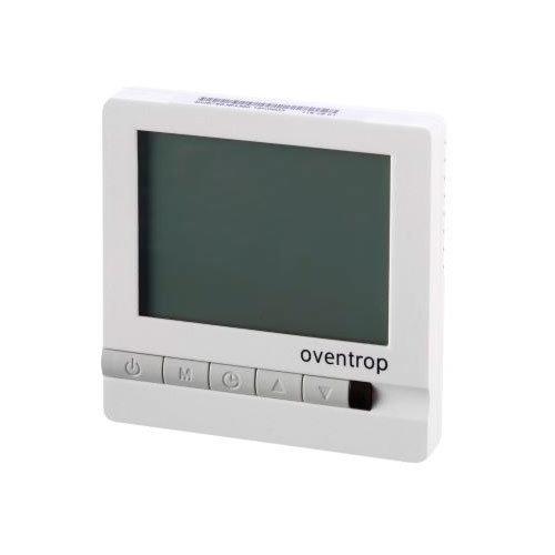 12775.970 Комнатный термостат Овентроп под штукатурку 24 В, с ЖК-дисплеем и настраиваемой временной программой, применяется с приводами Aktor T 2P.