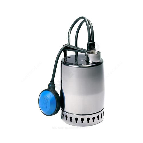 99818 Область применения: Служит для перекачивания чистой и загрязненной воды без волокнистых включений с твердыми частицами до 10 мм, отведения воды из затапливаемых помещений, стиральных машин, моечных агрегатов и душа.