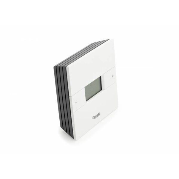 """M 352250 4 Терморегулятор с программируемым таймеромNea HCT 24В устанавливается для режима обогревапри монтаже """"теплого пола"""" и других систем отопления, а также для режима охлаждения. Управляется при помощи двух кнопок. Клавиши управления можно заблокировать для защиты. Имеет функцию защиты от замерзания и защиты клапана. Дополнительно можно подключить выносные датчики Nea (приобретаются отдельно)."""