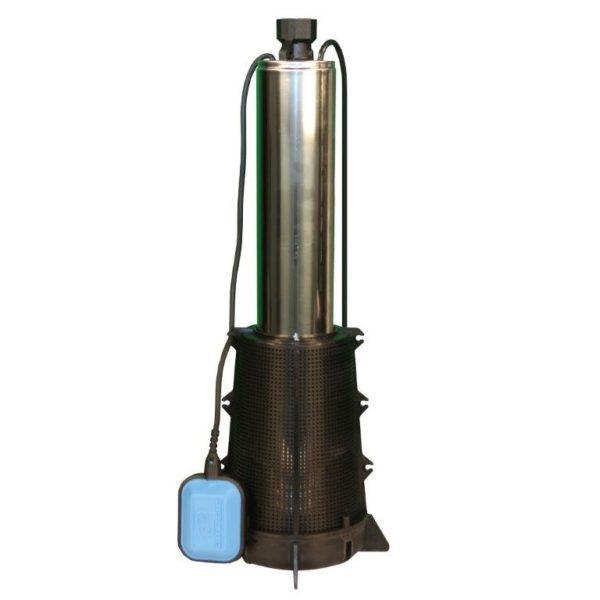 item 734 Колодезный насос с производительностью 3,3 м3 и напором в 50 метров, диаметр корпуса составляет 98 мм, в оснащение имеется поплавковый выключатель. Одна из популярных моделей, используемых в автоматических системах