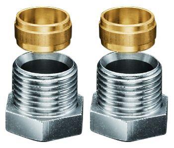 komplekt kontsovok na baypas 1 2 kh15mm 2sht 1/2'х15мм (2шт) Комплект концовок Oventrop