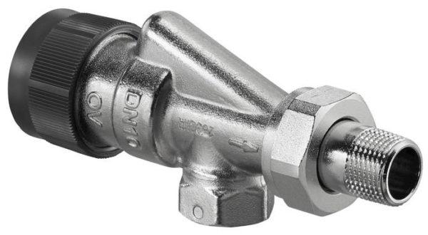 ov315 b A DN 15 Термостатический клапан для радиатора отопления осевой Oventrop