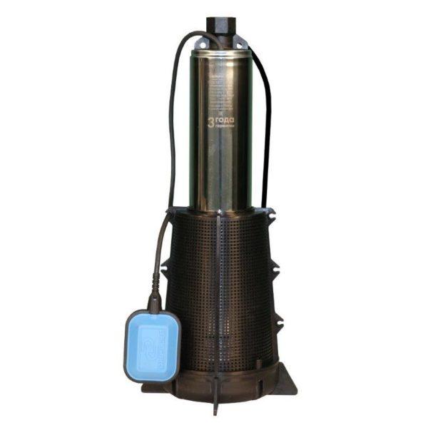 shop property file 734 1320 Колодезный насос с производительностью 3,3 м3 и напором в 50 метров, диаметр корпуса составляет 98 мм, в оснащение имеется поплавковый выключатель. Одна из популярных моделей, используемых в автоматических системах
