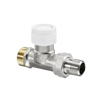 AV9 Ду15. 1/2 x 3/4 НР Вентиль для термостатов проходной Oventrop