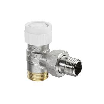 AV9 Ду15. 1/2 x 3/4 НР Вентиль для термостатов угловой Oventrop