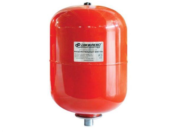 Бак для отопления 24л. 1 красный Джилекс