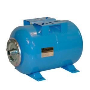 Бак для водоснабжения 35л. 1 синий горизонтальный Джилекс
