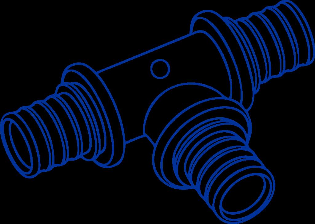Фитинги для труб из сшитого полиэтилена