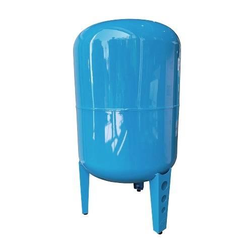 """Бак для водоснабжения 100л. 1"""" синий вертик. на ножках Джилекс"""