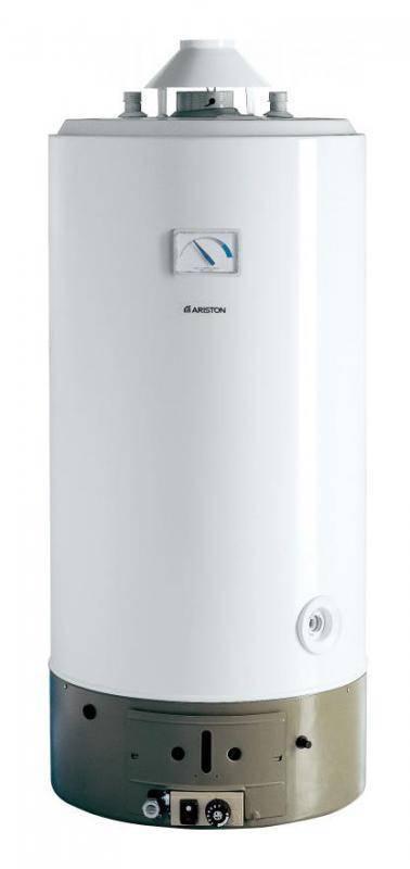 Водонагреватель газовый накопительный SGA 120 R 200л Ariston