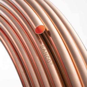 Труба медь ф22х1.0ммх 6м KME SANCO (Германия) 7011234 (куски по 6м.)