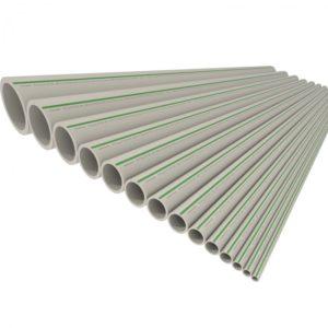 Труба полипропиленовая ф63х5.8 PP-RCT UNI PN16 серая FV-Plast
