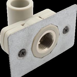 Уголок для установки в гипсокартон ф20-1/2внут. PP-R серый 240020 FV-Plast