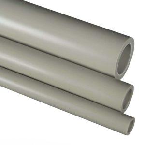 Труба полипропиленовая ф63х10.5 PPR CLASSIC S2,5 SDR6 PN20 серая 101063 FV-Plast