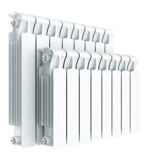 Радиатор биметаллический BVR 500/04( нижнее подключение правое)