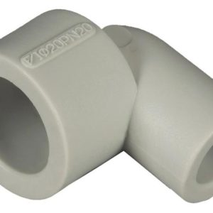 Уголок 90°-ф32 внутр./наруж. PP-R серый 204032 FV-Plast