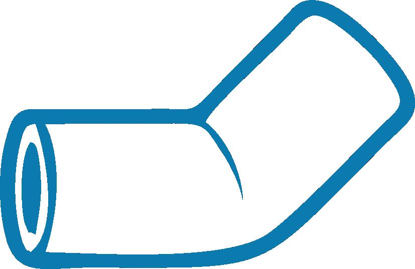 Фитинги ПВХ (для канализационных труб)