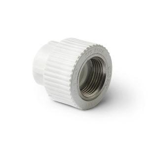 PP-R Муфта комбинированная ВР белая 40-1