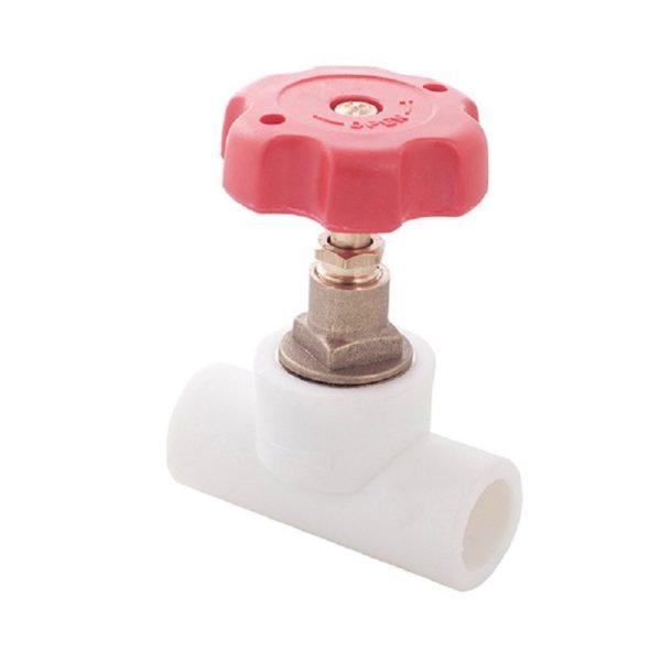 PP-R Клапан (вентиль) белый 32