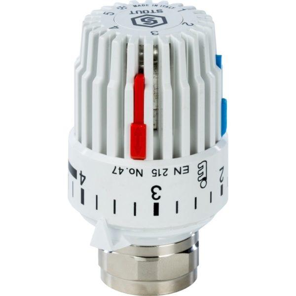 SHT 0001 003015 STOUT Головка термостатическая, газовая M30x1,5