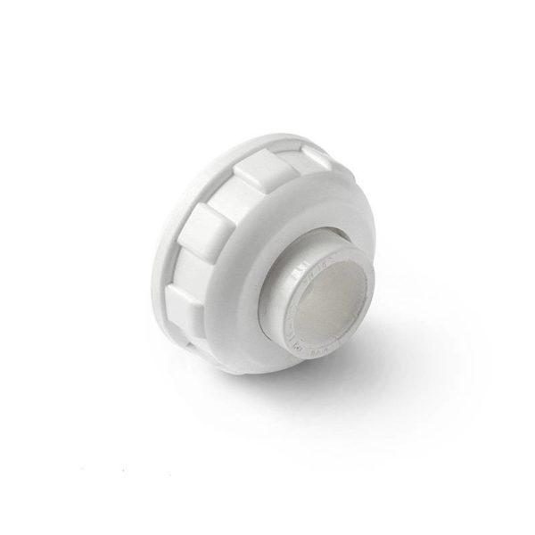 PP-R Муфта разъемная пластиковая белая 40