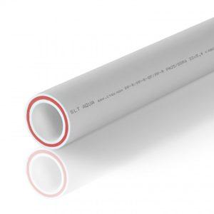 PP-R Труба армированная стекловолокном RUBIS SDR 7.4 белая 63