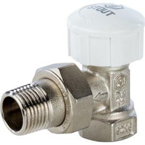 SVT 0004 000020 STOUT Клапан термостатический, угловой 3/4