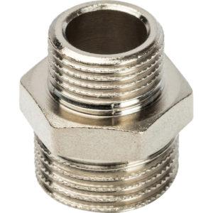 SFT-0004-003412 STOUT Ниппель НР-НР переходной никелированный 3/4Х1/2