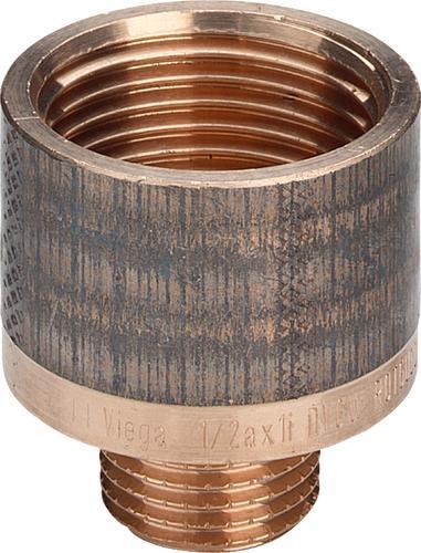 PPm3242i650858v01 Размер: R-Rp Резьбовые фитинги и удлинители Viega отвечают соответствующим нормам и правилам. Эти части имеют достаточную толщину стенки. Обусловленные производственным процессом напряжения сняты путем отжига.