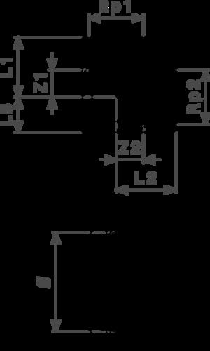 ZMm1421l25 Размер:Rp1-Rp2 Резьбовые фитинги и удлинители Viega отвечают соответствующим нормам и правилам. Эти части имеют достаточную толщину стенки. Обусловленные производственным процессом напряжения сняты путем отжига.