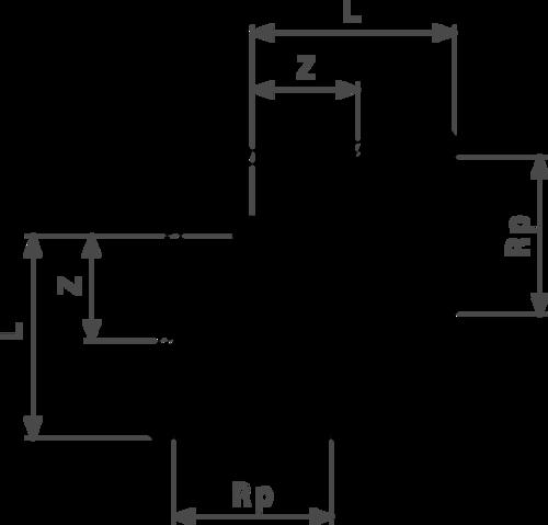 ZMm1612l25 Размер: Rp-Z-L Резьбовые фитинги и удлинители Viega отвечают соответствующим нормам и правилам. Эти части имеют достаточную толщину стенки. Обусловленные производственным процессом напряжения сняты путем отжига.