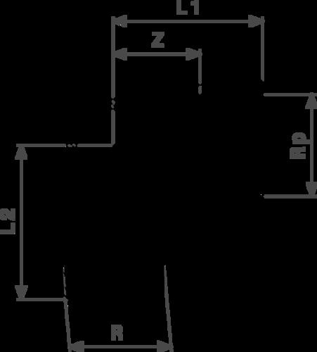 ZMm1613l25 Размер:R-Rp Резьбовые фитинги и удлинители Viega отвечают соответствующим нормам и правилам. Эти части имеют достаточную толщину стенки. Обусловленные производственным процессом напряжения сняты путем отжига.