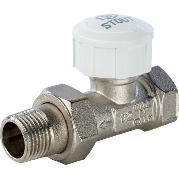 SVT 0003 000020 STOUT Клапан термостатический, прямой 3/4