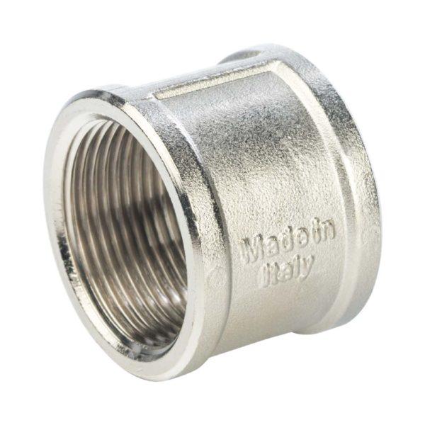 SFT-0006-003434 STOUT Муфта ВР-ВР никелированная 3/4