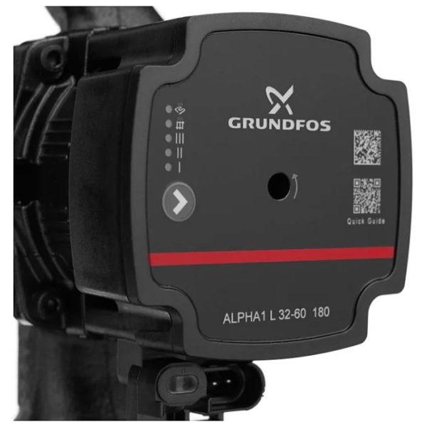 grundfos alpha1 l 32 60 Насосы GRUNDFOS ALPHA1 Lиспользуются для циркуляции воды или гликольсодержащих жидкостей в регулируемых системах отопления и в системах отопления с переменным расходом. Также насосы могут применяться для циркуляции в системах горячего водоснабжения. Отличительной особенностью насосов ALPHA1 L является наличие режима управления от ШИМ-сигнала.