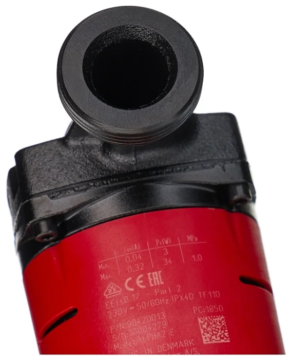 orig 16 НасосыGRUNDFOS ALPHA2используются для циркуляции воды или гликольсодержащих жидкостей в регулируемых системах отопления и в системах отопления с переменным расходом. Помимо этого, насосы могут применяться для циркуляции в системах горячего водоснабжения.