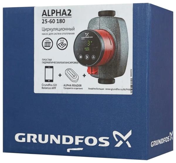 orig 17 НасосыGRUNDFOS ALPHA2используются для циркуляции воды или гликольсодержащих жидкостей в регулируемых системах отопления и в системах отопления с переменным расходом. Помимо этого, насосы могут применяться для циркуляции в системах горячего водоснабжения.
