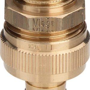 Фитинг «елочка» для присоединения шланга 2-2-2⅜ R-ID-GNT Viega модель 1831