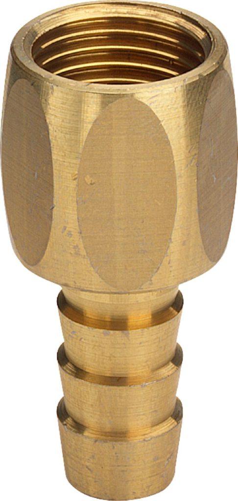 Шланговый штуцер с многогранником 1-1 R-ID Viega Модель 1846