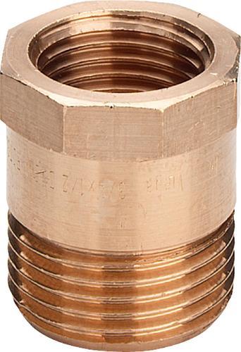 PPm3244i446758v01 Размер: R-Rp Резьба с насечками, внешний многогранник для фиксации гаечным ключом. Viega отвечают соответствующим нормам и правилам. Эти части имеют достаточную толщину стенки. Обусловленные производственным процессом напряжения сняты путем отжига.