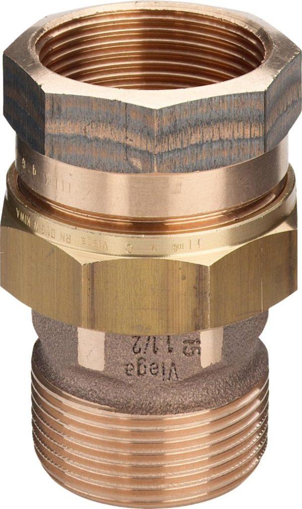 Соединительный элемент резьбовой 3-3 R-Rp Viega