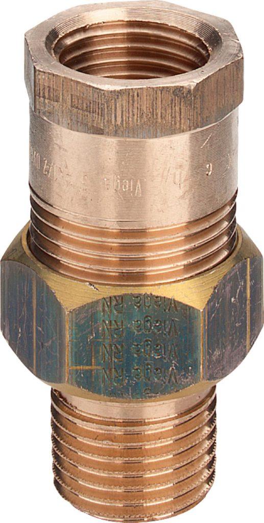 Соединительный элемент резьбовой 2-2 R-Rp Viega