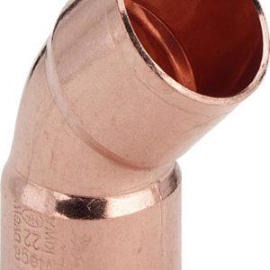 Отвод 45° 54 d-Cu Viega