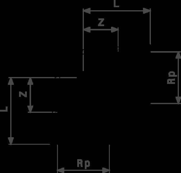 ZMm1612l25 Размер:Rp Резьбовые фитинги и удлинители Viega отвечают соответствующим нормам и правилам. Эти части имеют достаточную толщину стенки. Обусловленные производственным процессом напряжения сняты путем отжига.