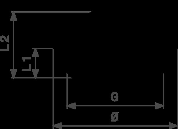 ZMm1751l25 Размер:Rp Резьбовые фитинги и удлинители Viega отвечают соответствующим нормам и правилам. Эти части имеют достаточную толщину стенки. Обусловленные производственным процессом напряжения сняты путем отжига.