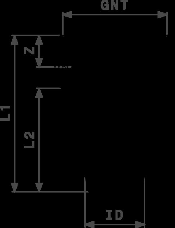 ZMm1817l25 Размер:Rp Резьбовые фитинги и удлинители Viega отвечают соответствующим нормам и правилам. Эти части имеют достаточную толщину стенки. Обусловленные производственным процессом напряжения сняты путем отжига.