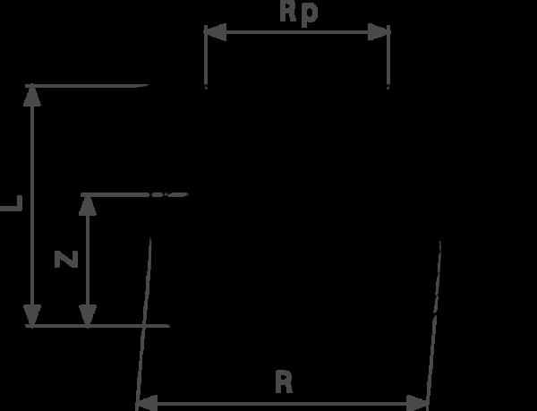 ZMm3241l25 1 1 Размер:Rp Резьбовые фитинги и удлинители Viega отвечают соответствующим нормам и правилам. Эти части имеют достаточную толщину стенки. Обусловленные производственным процессом напряжения сняты путем отжига.