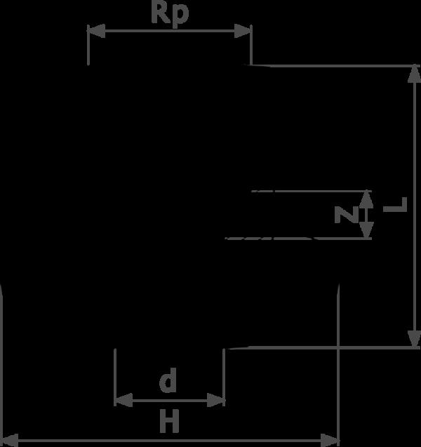 ZMm94270GFl25 Скорость выполнения пресс-соединений Viega действительно впечатляет. После всего трех подготовительных действий – отрезания трубы нужной длины, вставления пресс-фитинга и проверки глубины вставки – опрессовка занимает всего несколько секунд. Нет необходимости в калибровке, как в других трубопроводных системах. Это позволяет сэкономить от 30 до 50% времени по сравнению с пайкой, в зависимости от диаметра трубы. Поскольку все пресс-соединения оснащены гребнем с двойной опрессовкой, опрессованные соединения вдвойне надежнее.  - бронза - соединение под пайку, Rp-резьба комплектация защита от прокручивания  d = внешний диаметр трубы Rp = внутренняя цилиндрическая резьба