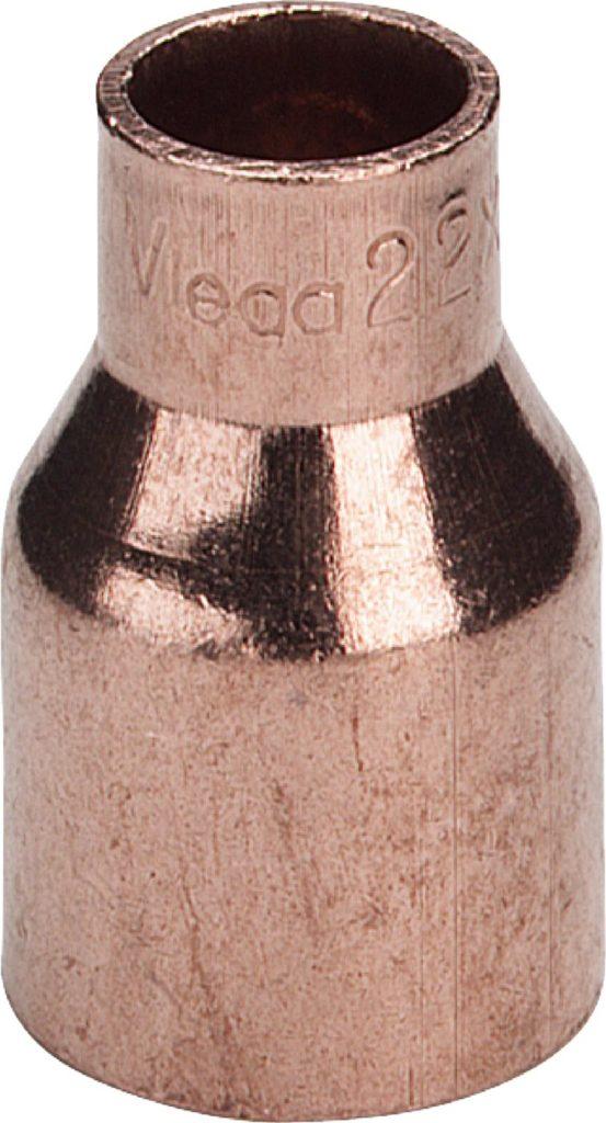 Редукционная вставка медная 54а-42 Cu-d1-d2 Viega